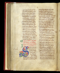 A Decorated Initial, in Bede's 'Commentary on the Catholic Epistles'